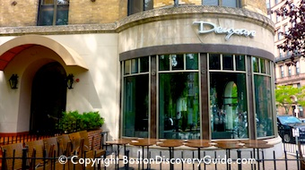 Photo of Deaxave, Back Bay restaurant in Boston serving contemporary French cuisine