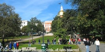 Boston Common - Start of the Freedom Trail