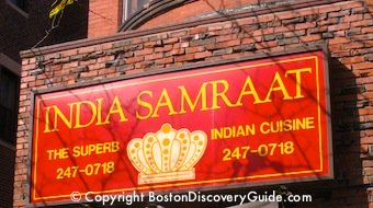 Photo of India Samraat, Back Bay restaurant in Boston serving contemporary French cuisine