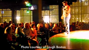 Boston comedy clubs include Nick's Comedy Stop in the Theatre District