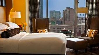 Photo of room at Nine Zero Hotel in Boston MA