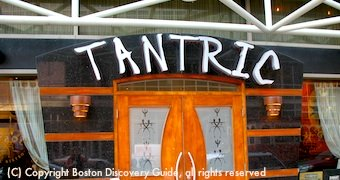Tantric India Bistro near Boston's Theatre District