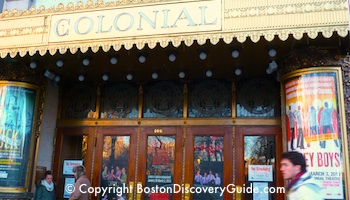 Colonial Theatre in Boston's Theatre District