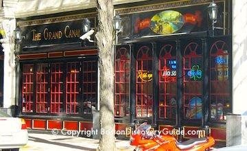 Grand Canal - top sports bar, Irish pub, and dance club near Boston's TD Garden