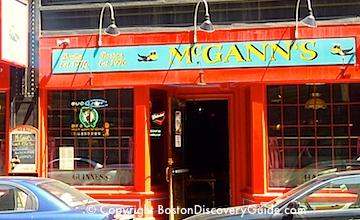 Boston bars near TD Garden - McCanns