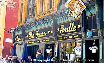 Boston Bars near Garden - The Fours