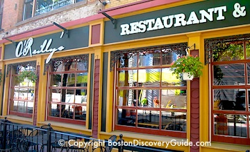 Boston bars near TD Garden - OReillys