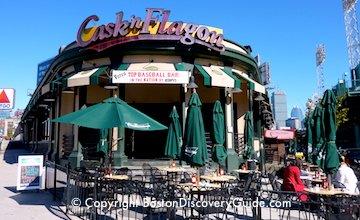 Cask 'n Flagon - sports bar across from Fenway Park