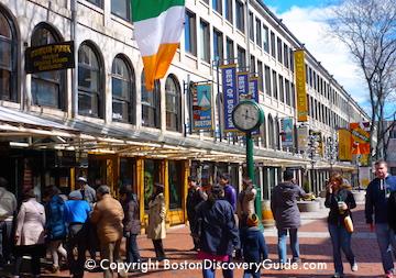 Faneuil Marketplace in Boston