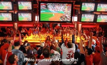 Game On - popular sports bar near Fenway Park