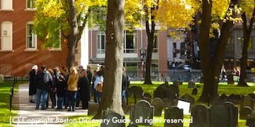 Boston's Freedom Trail:  Granary Burying Ground
