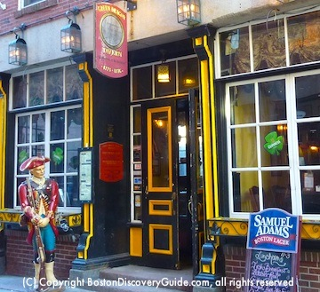 Green Dragon Tavern in Historic Boston