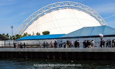Boston nightlife and entertainment - Blue Hills Pavilion