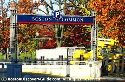 Boston Common Garage / Boston Parking Garages near Theatre District - www.boston-discovery-guide.com