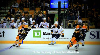 New England Bruins March schedule at TD Garden in Boston