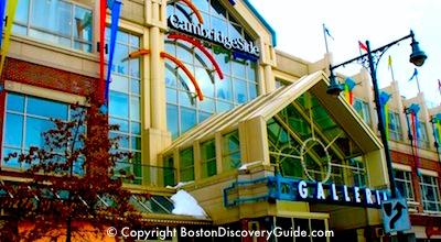 Cambridgeside Galleria in Cambridge, MA