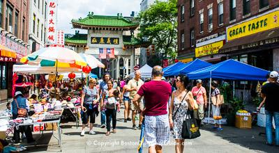 Chinatown Main Street Festival - Beach Street, near the Chinatown Gate