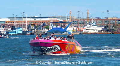 Codzilla, high-speed Boston Harbor Tour - Teens love this tour!