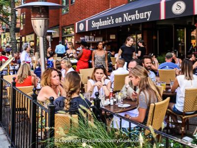 Boston attractions: Restaurants