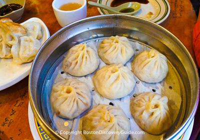 Boston restaurants - Dim sum restaurants in Chinatown