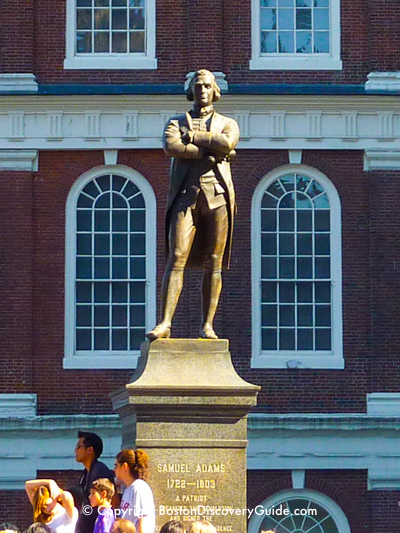 Samuel Adams Statue in Boston