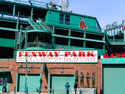 Top Boston attraction:  Fenway Park