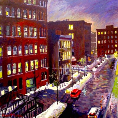 Winter Thunderstorms by Karen McFeaters