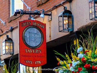 Historic Boston bars