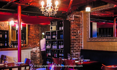 Boston nightlife and entertainment - Restaurants