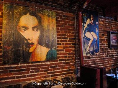 Grotto Restaurant, Boston