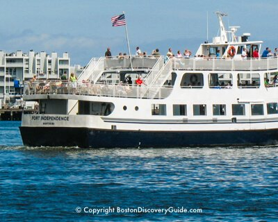 Boston Harbor and River cruises