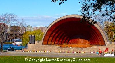 Boston Hatch Shell - Free Friday Flicks in July