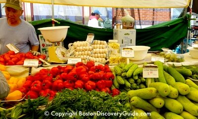 Haymarket, Boston's historic open air market, offers some of the cheapest produce prices in the city