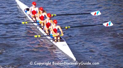 Head of Charles rowers