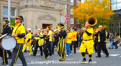 Photo of HONK Festival band - coming to Boston on Columbus Day Weekend