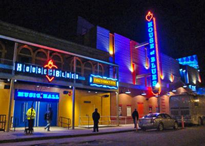 House of Blues Boston at night