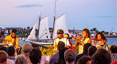 Free summer conscert at Institute of Contemporary Art in South Boston Waterfront