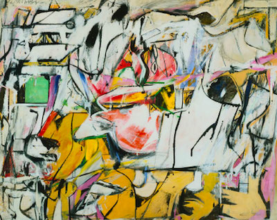 New show opening at ICA Boston - painting by Willem de Kooning, 1948