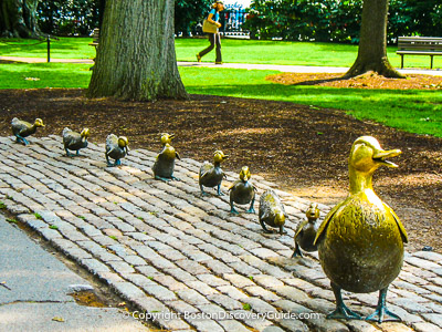 Boston attractions: Make Way for Ducklings