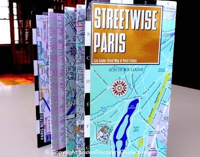 Streetwise Paris laminated map