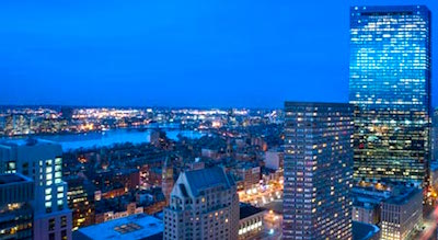 View from Marriott Hotel Boston at Copley Place
