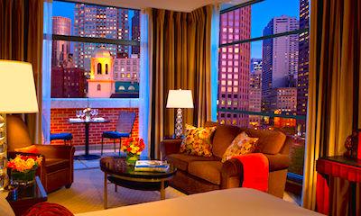 Millennium Bostonian Hotel in Boston's Historic District