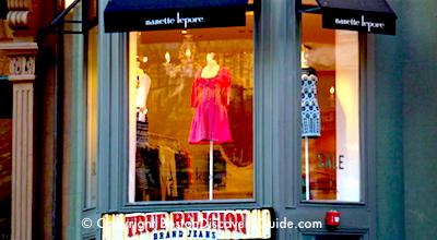 Boston winter break week - shopping on Newbury Street