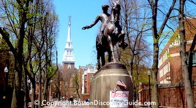 Quincy Market is a favorite Boston shopping area
