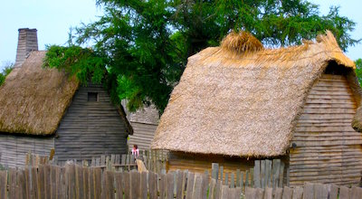 Plimouth Plantation near Boston MA - photo courtesy of Muns via Wikipedia