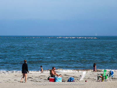 Boston attractions: Boston beaches