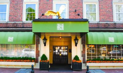 Salem hotels:  Hawthorne Hotel