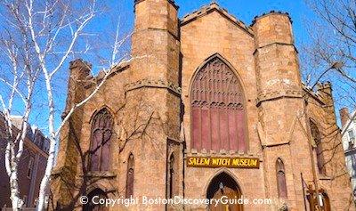 Salem Witch Museum in Salem MA