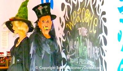 Salem Witch Village in Salem MA