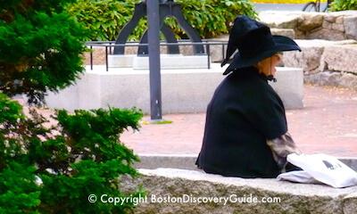 Witch in Salem MA